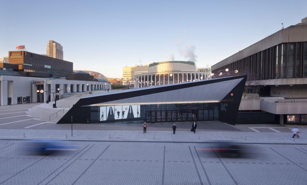 Georges-Emile-Lapalme Cultural Center / MSDL Architectes, © Stephane Groleau