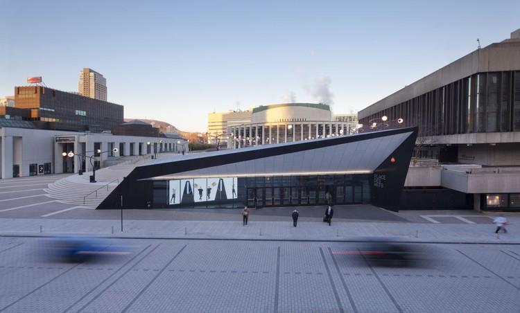 Georges-Emile-Lapalme Cultural Center / MSDL Architectes, © Stéphane Groleau