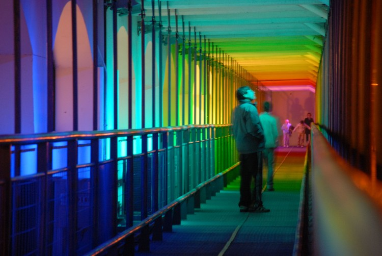 Nueva iluminación para el Puente Uruguay en Villa Carlos Paz / Maestre Iluminación, © vía la nueva