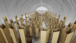 Montaje Bienal de Arquitectura de Chile 2012 / Arturo Lyon