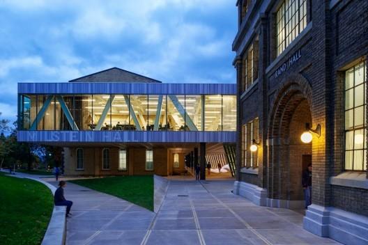 Milstein Hall at Cornell University. © Matthew Carbone