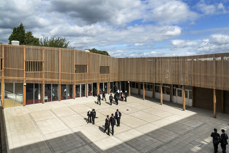 Birmingham Schools / Haworth Tompkins, © Richard Haughton