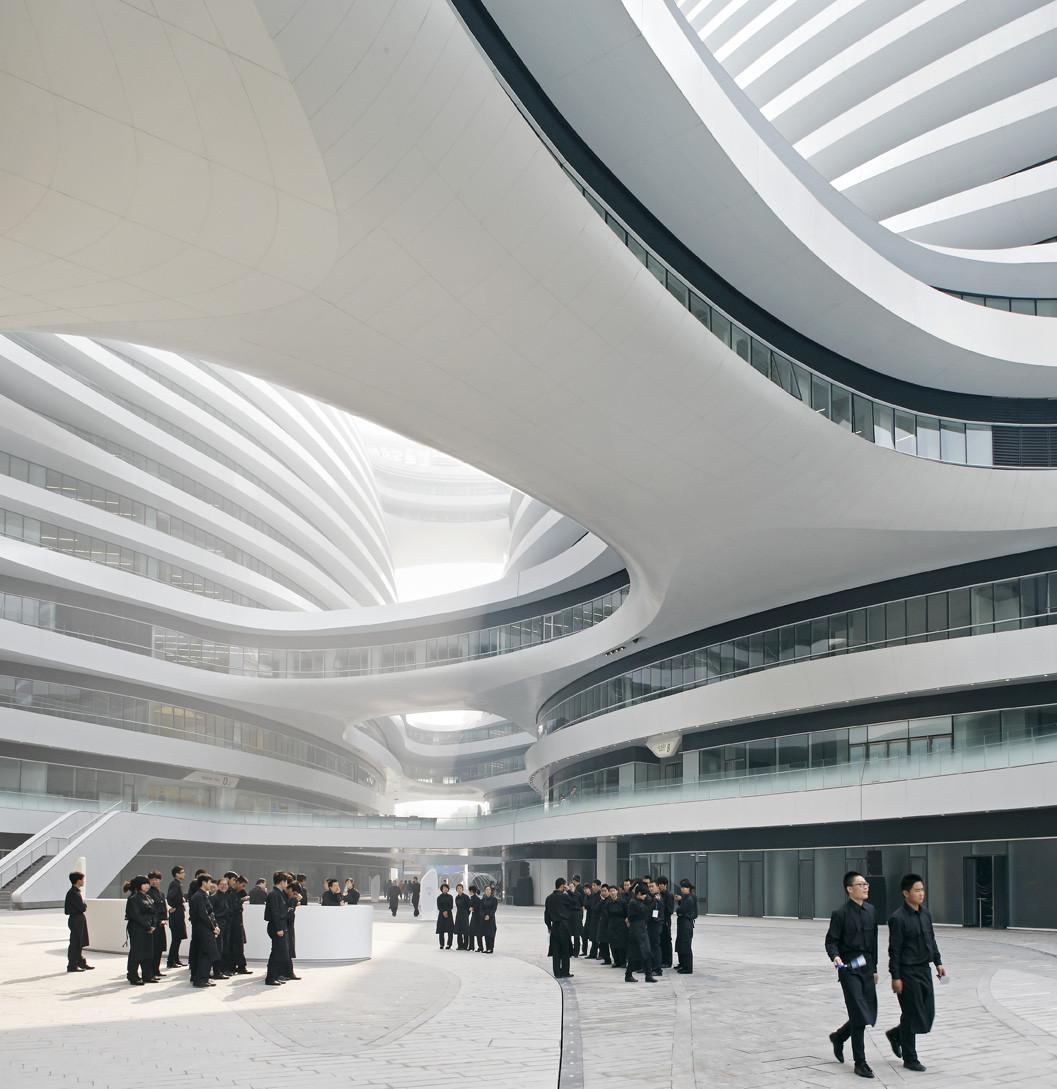 Galaxy Soho / Zaha Hadid Architects by Hufton + Crow
