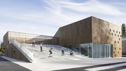 Centro Cultural en Nevers / Ateliers O-S architectes