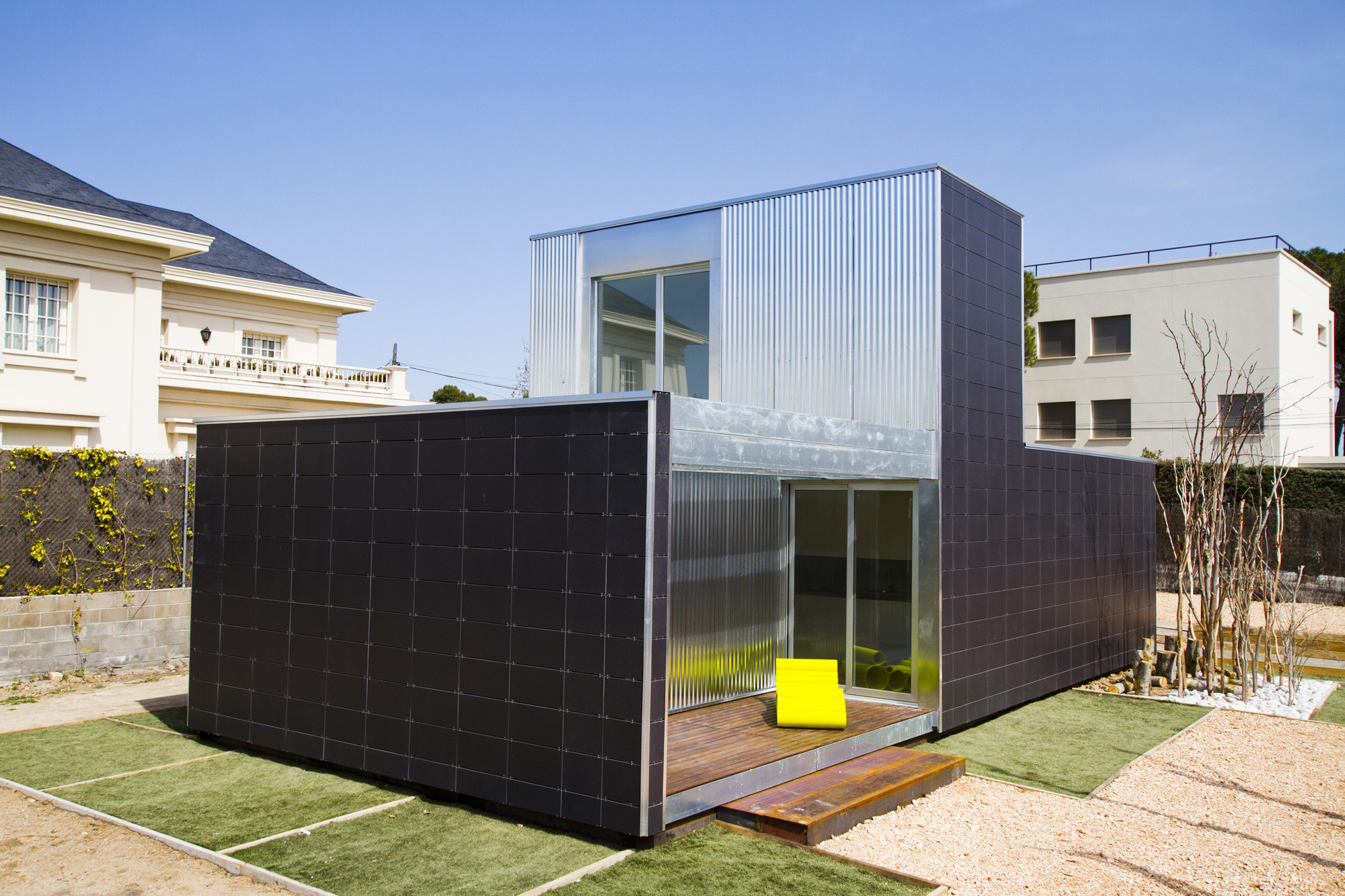 Gallery of open modular system of sustainable houses for Prefab units