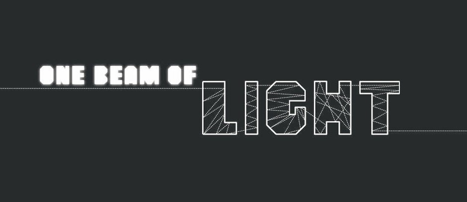 Concurso de iluminación «One beam of light», One beam of light