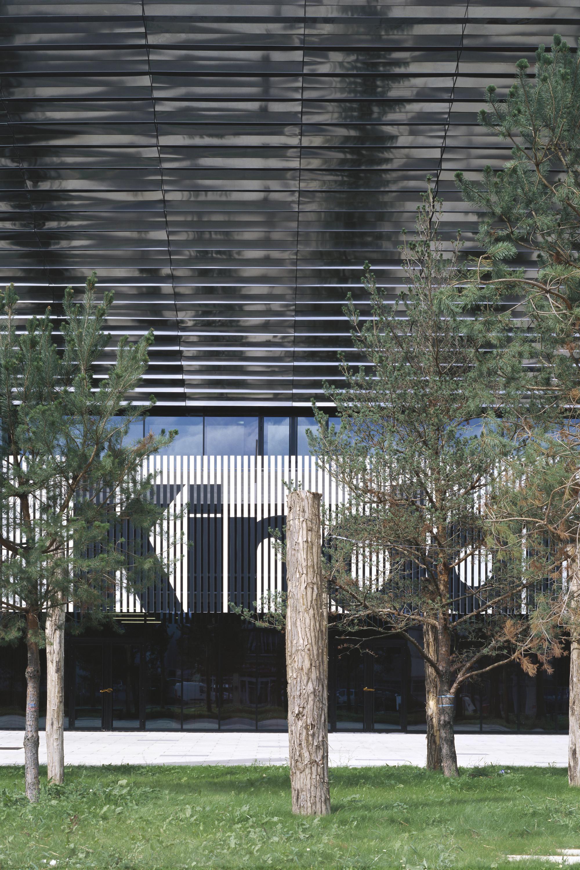 Palais des sports de Rouen / Dominique Perrault Architecture