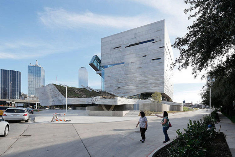 Perot Museum Of Nature And Science Morphosis Architects