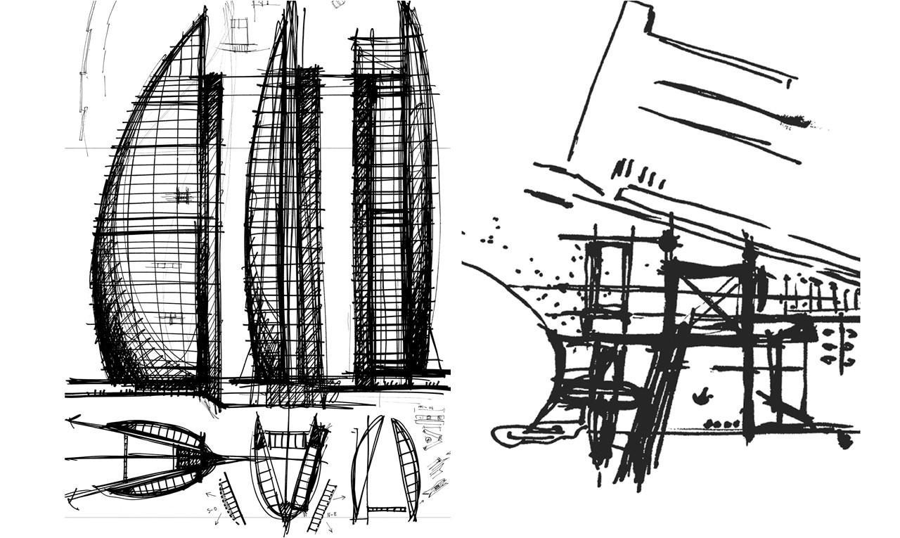 Gallery of w barcelona hotel ricardo bofill 38 for Conceptualizacion de la arquitectura