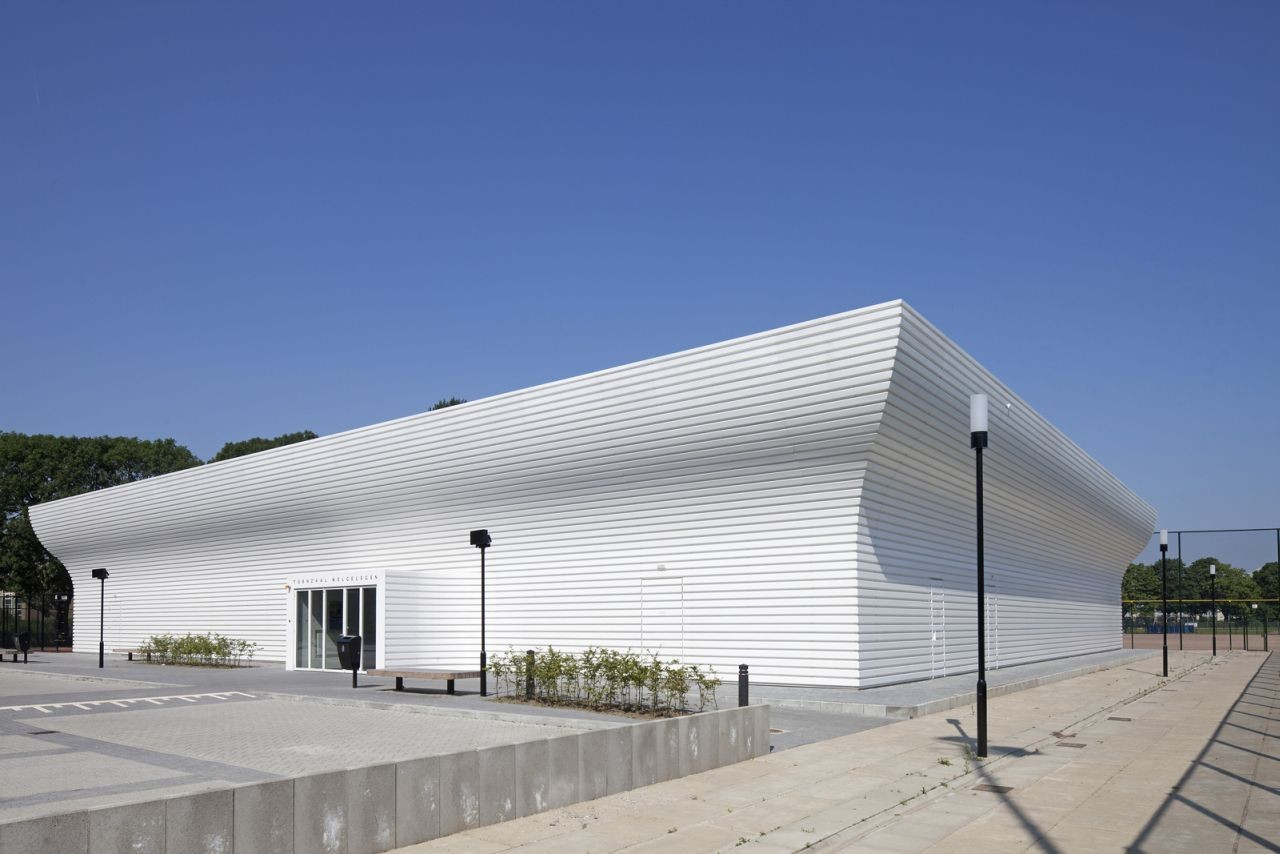Gym Hall TNW / NL Architects, © Luuk Kramer