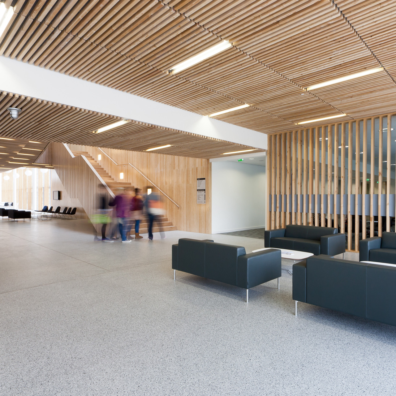 Stirling Campus in Forth Valley College / Reiach and Hall Architects, © Dave Morris