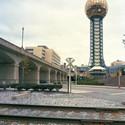 "Knoxville  1982 World's Fair, ""Energy Turns the World,"" Sunsphere, 2009. Photo © Jade Doskow."