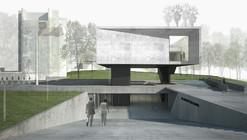 Mención Concurso Extensión Escuela Naval / elton + léniz arquitectos asociados