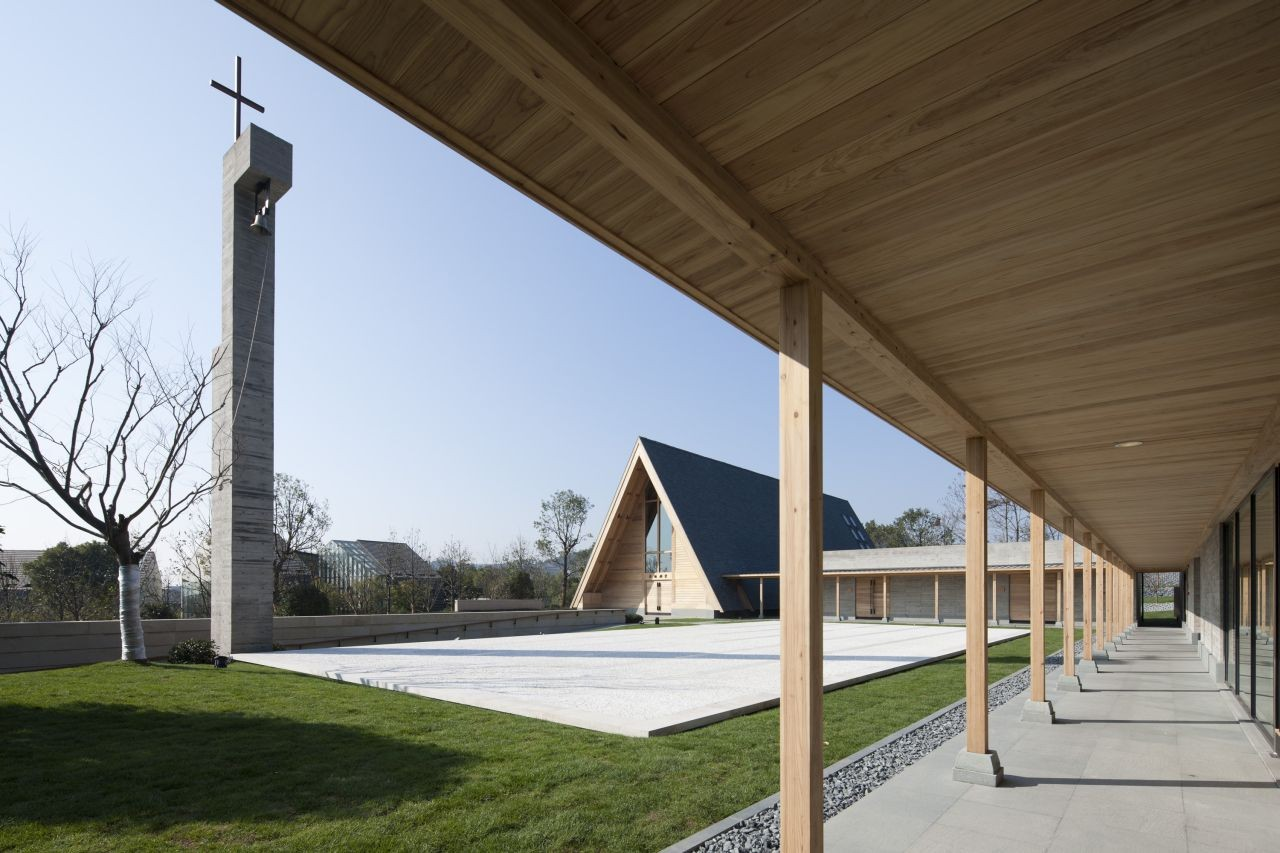 Mei Li Zhou Church / Tsushima Design Studio, © Masao Nishikawa
