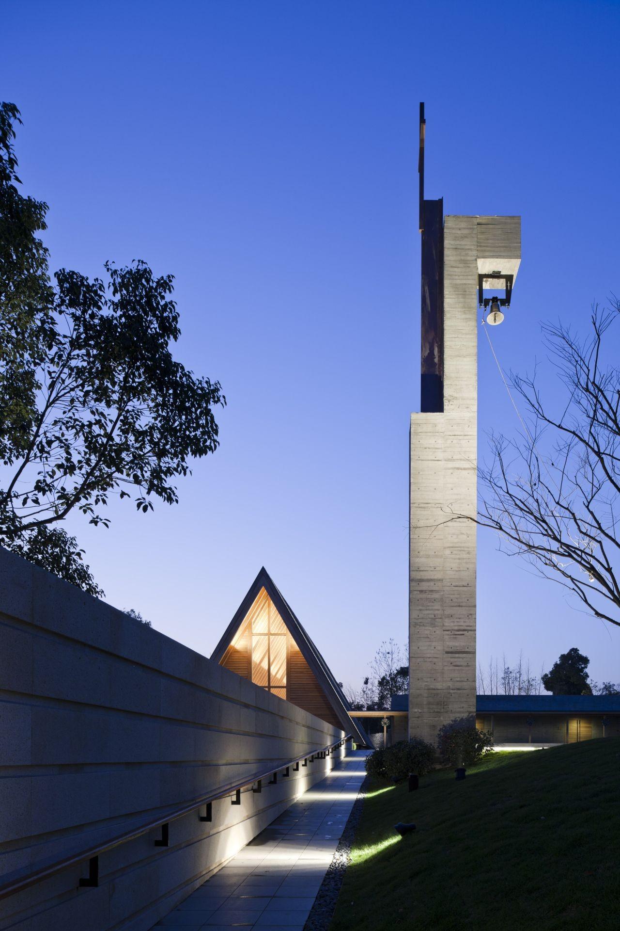 Gallery of mei li zhou church tsushima design studio 4 for Church exterior design ideas