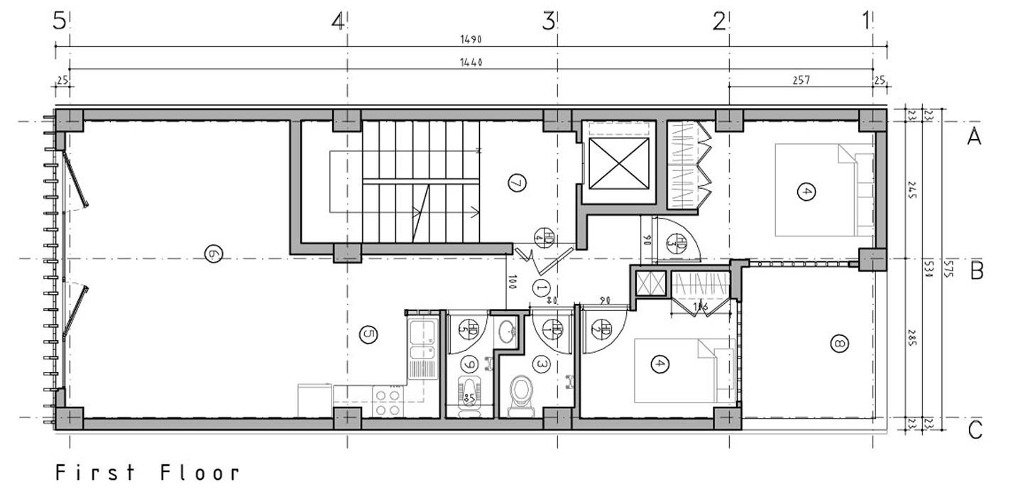 zoom image view original size - Brick House Floor Plans