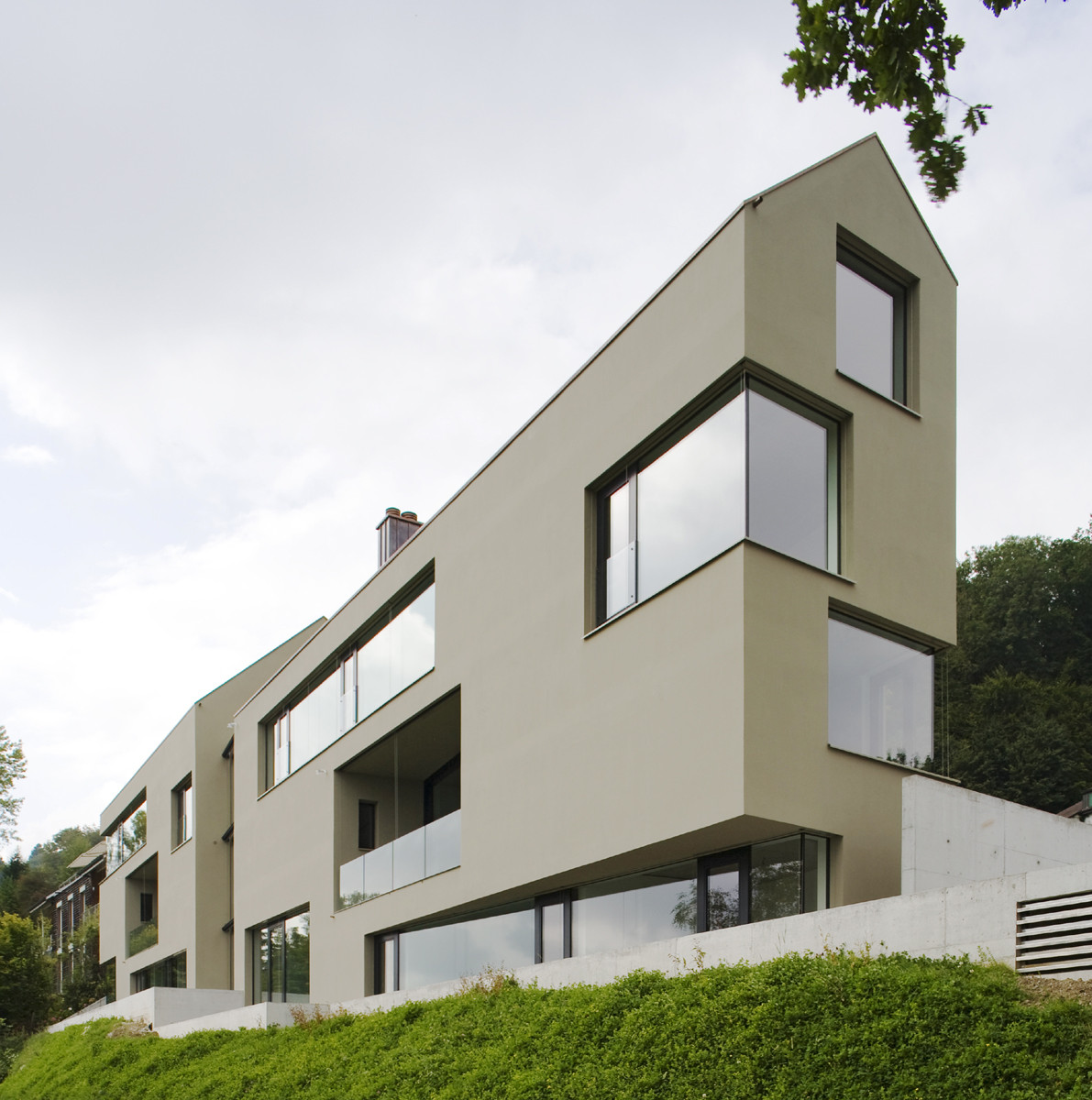 House for 6 Families / L3P Architects, © Vito Stallone