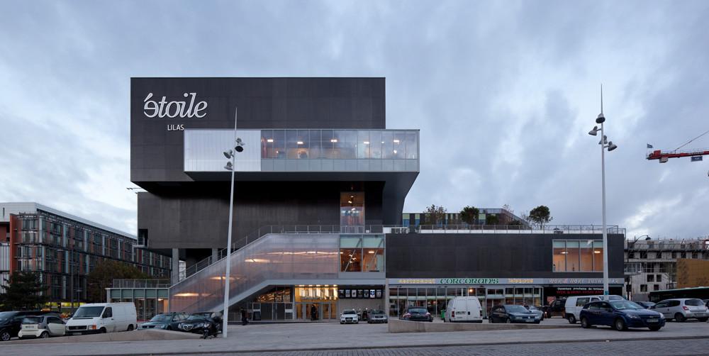 gallery of etoile lilas cinema hardel et le bihan architectes 2. Black Bedroom Furniture Sets. Home Design Ideas