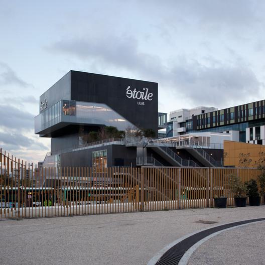 Etoile lilas cinema hardel et le bihan architectes - Le cirque electrique porte des lilas ...