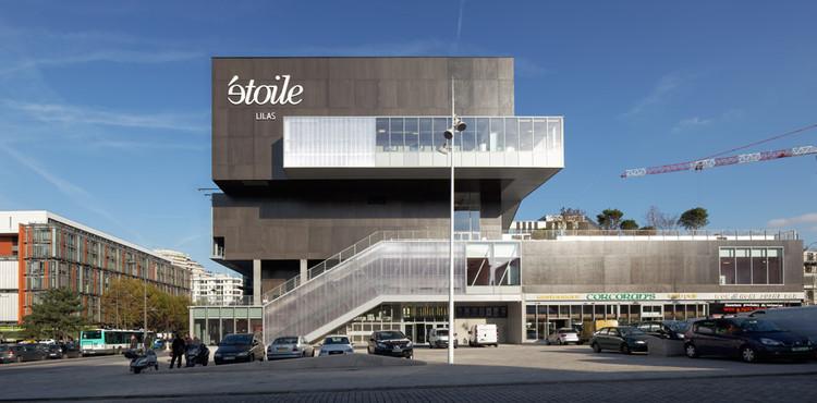 Etoile Lilas Cinema / Hardel et Le Bihan Architectes, © Vincent Fillon