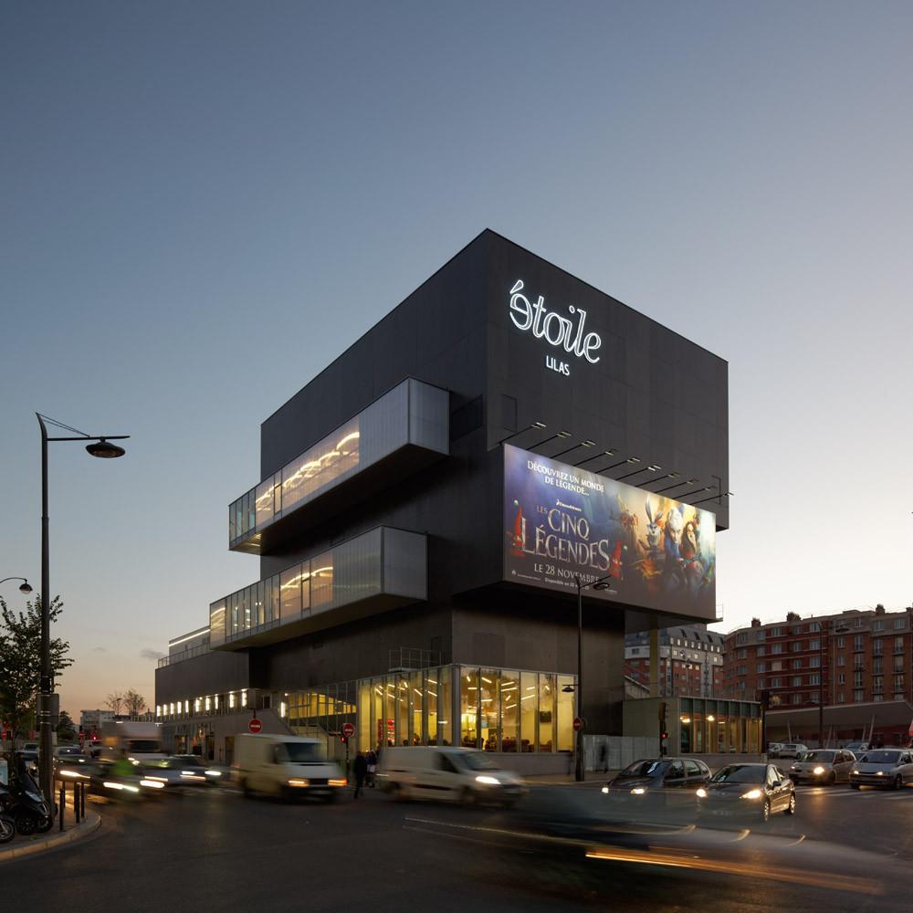 gallery of etoile lilas cinema hardel et le bihan architectes 18. Black Bedroom Furniture Sets. Home Design Ideas