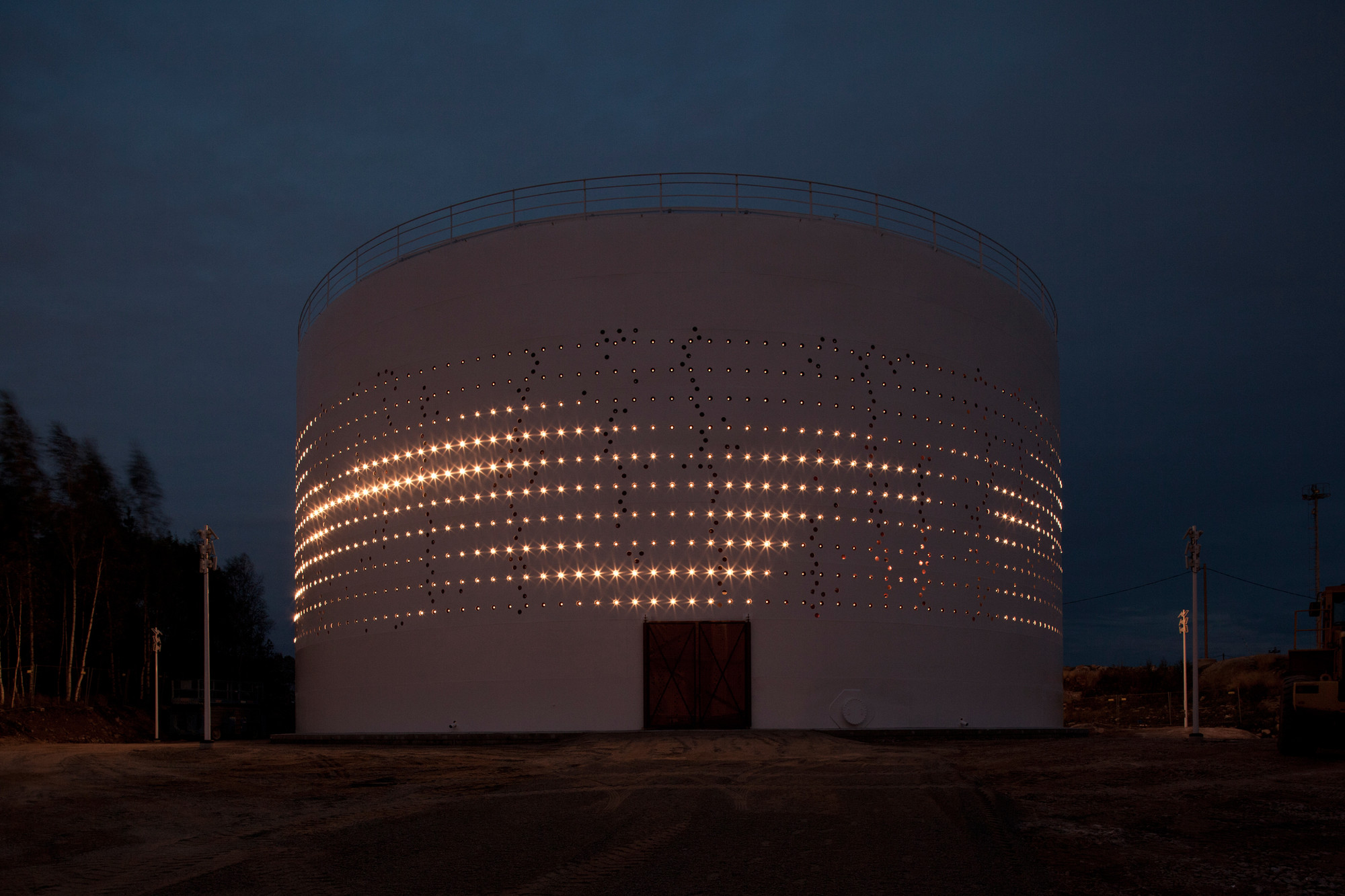 Gallery Of Silo 468    Lighting Design Collective