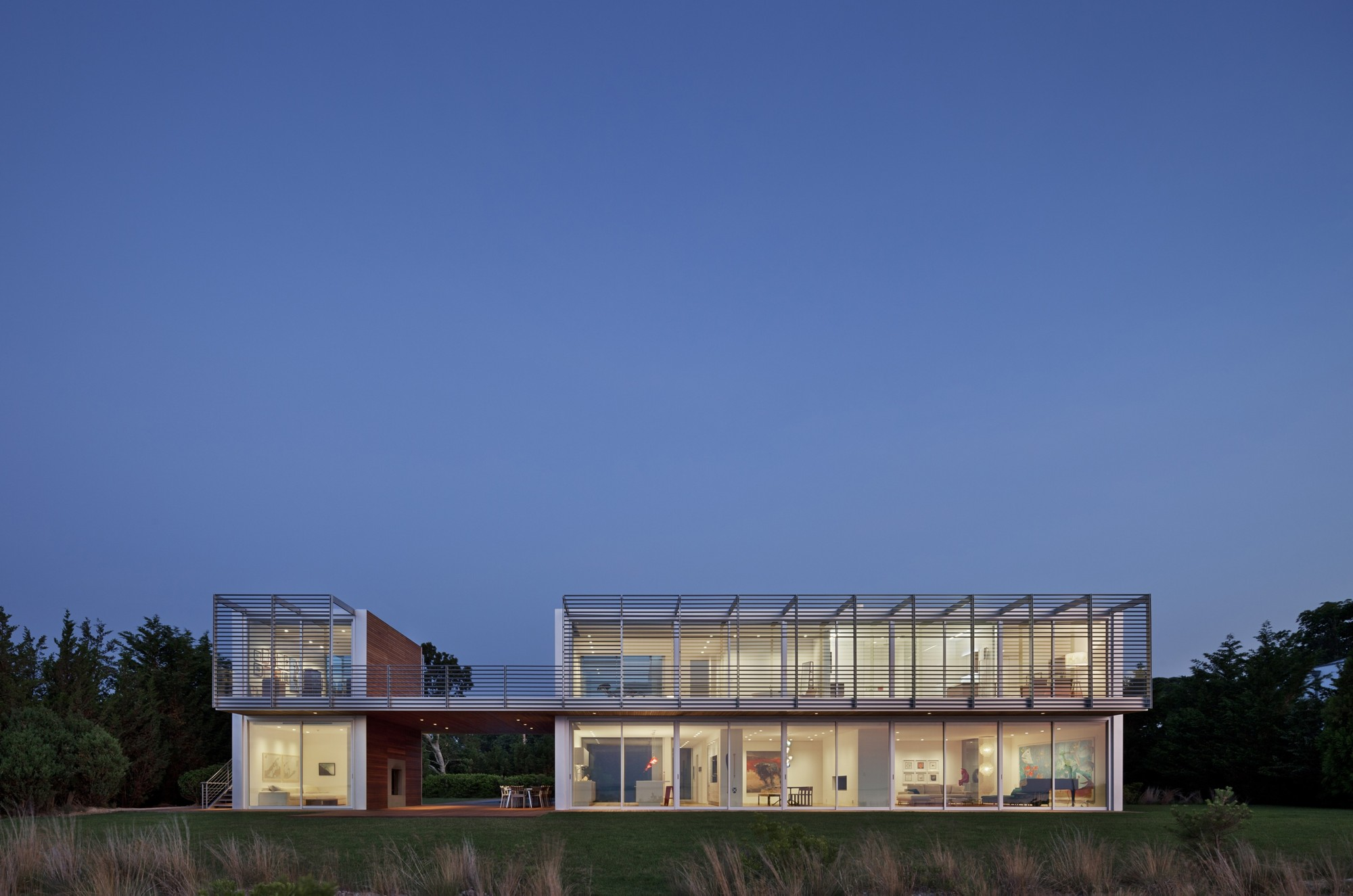 The Bay House / Roger Ferris + Partners, © Arch Photo Inc, New York