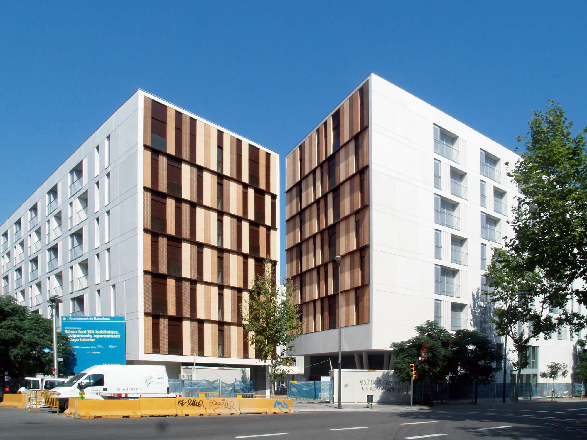 154 Rental Social Housing And Public Building For The Barcelona Municipal Housing / ONL Arquitectura, © Gianluca Giaccone