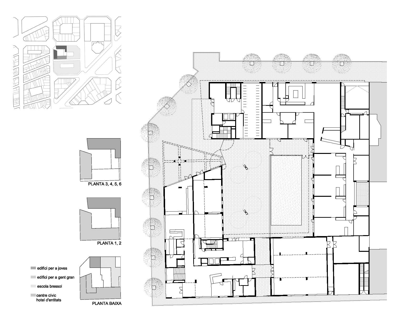 Gallery of 154 Rental Social Housing And Public Building For The ...