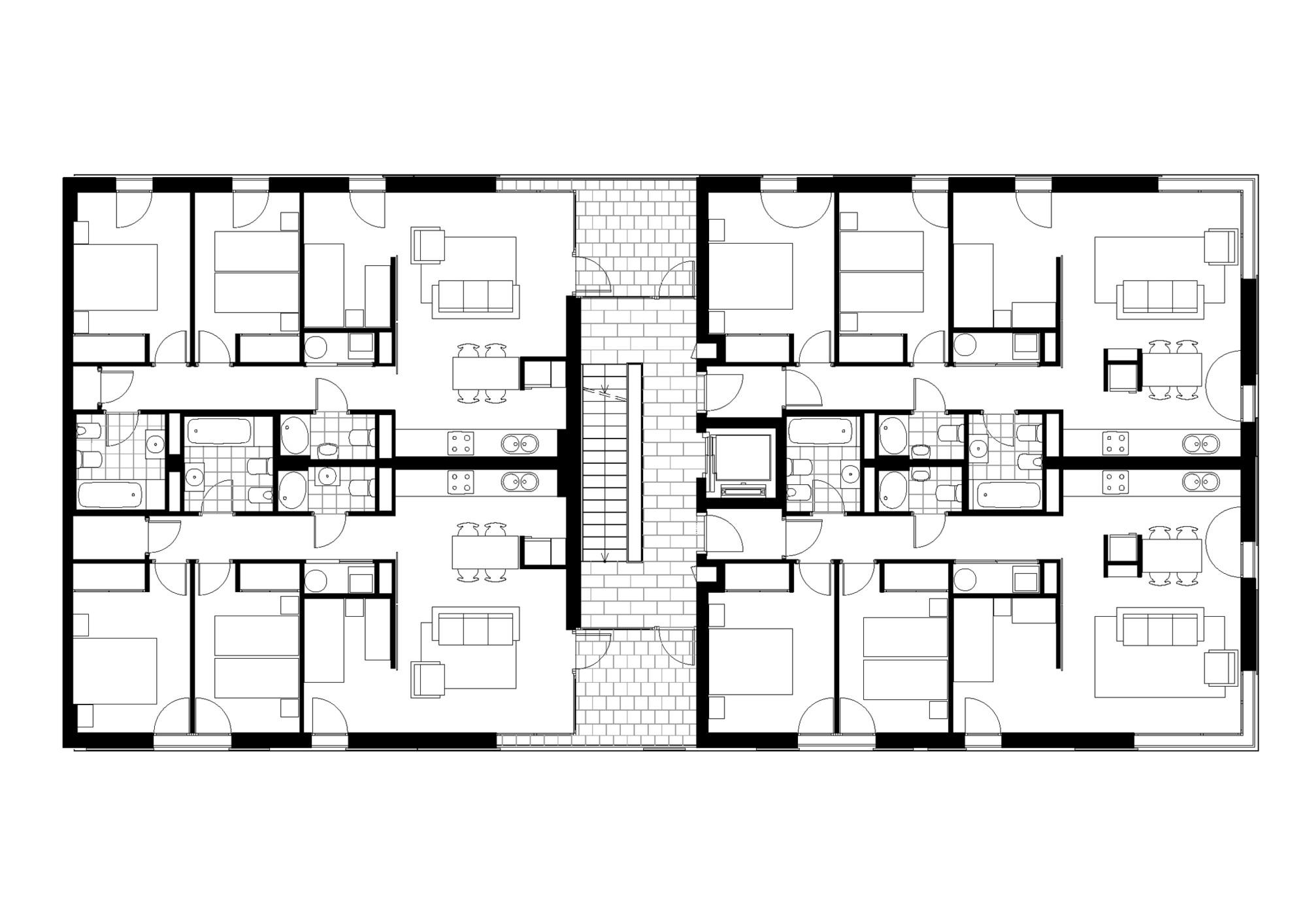 Gallery of 16 social housing for granollers town hall - Fotos de viviendas ...