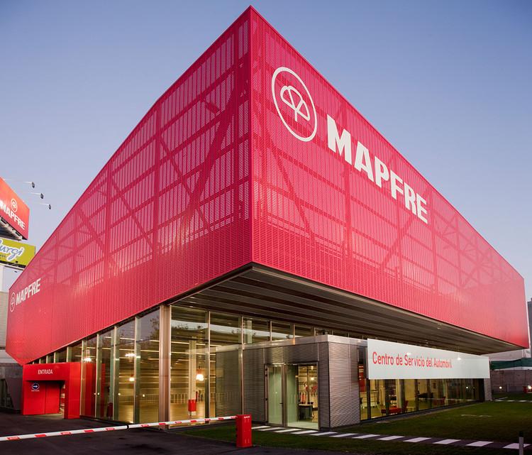 Mapfre Automovile Services Centre / Beriot, Bernardini Arquitectos, © Miguel  de Guzmán