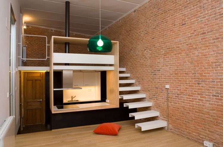 Loft Andrés Borrego / Beriot, Bernardini Arquitectos, © Yen Chen