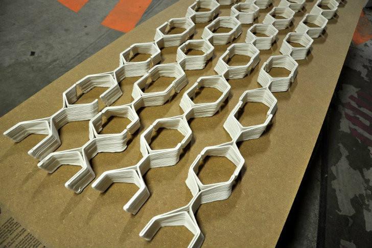 Galer a de nuevos materiales ladrillos cer micos impresos - Nuevos materiales para encimeras de cocina ...