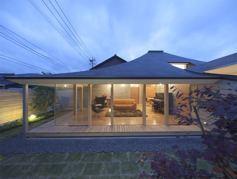 Gallery Of Broken Pitched Roof House Nks Architects 1