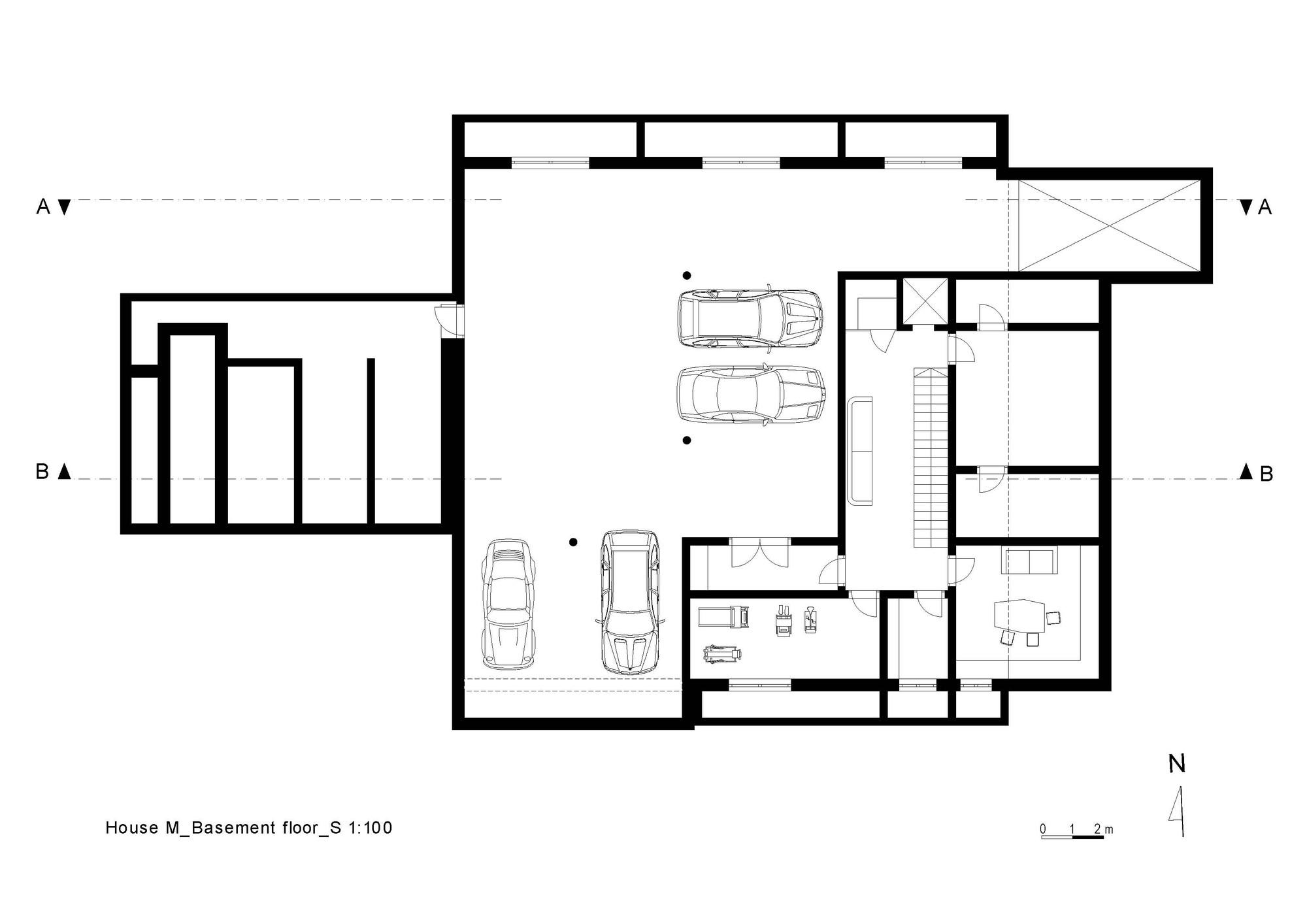 Gallery Of House M Monovolume Architecture Design 41