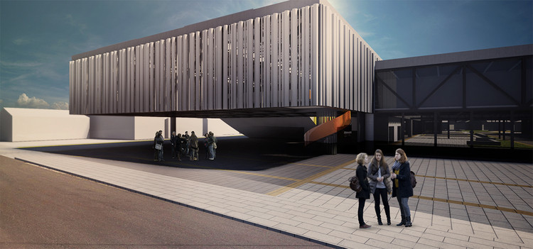 Menção Honrosa no V Concurso de Estudantes de Arquitetura CBCA/ALACERO / Okabaiasse + Hassegawa + Schneider + Gusmão + Scuiciato, © Okabaiasse + Hassegawa + Schneider + Gusmão + Scuiciato