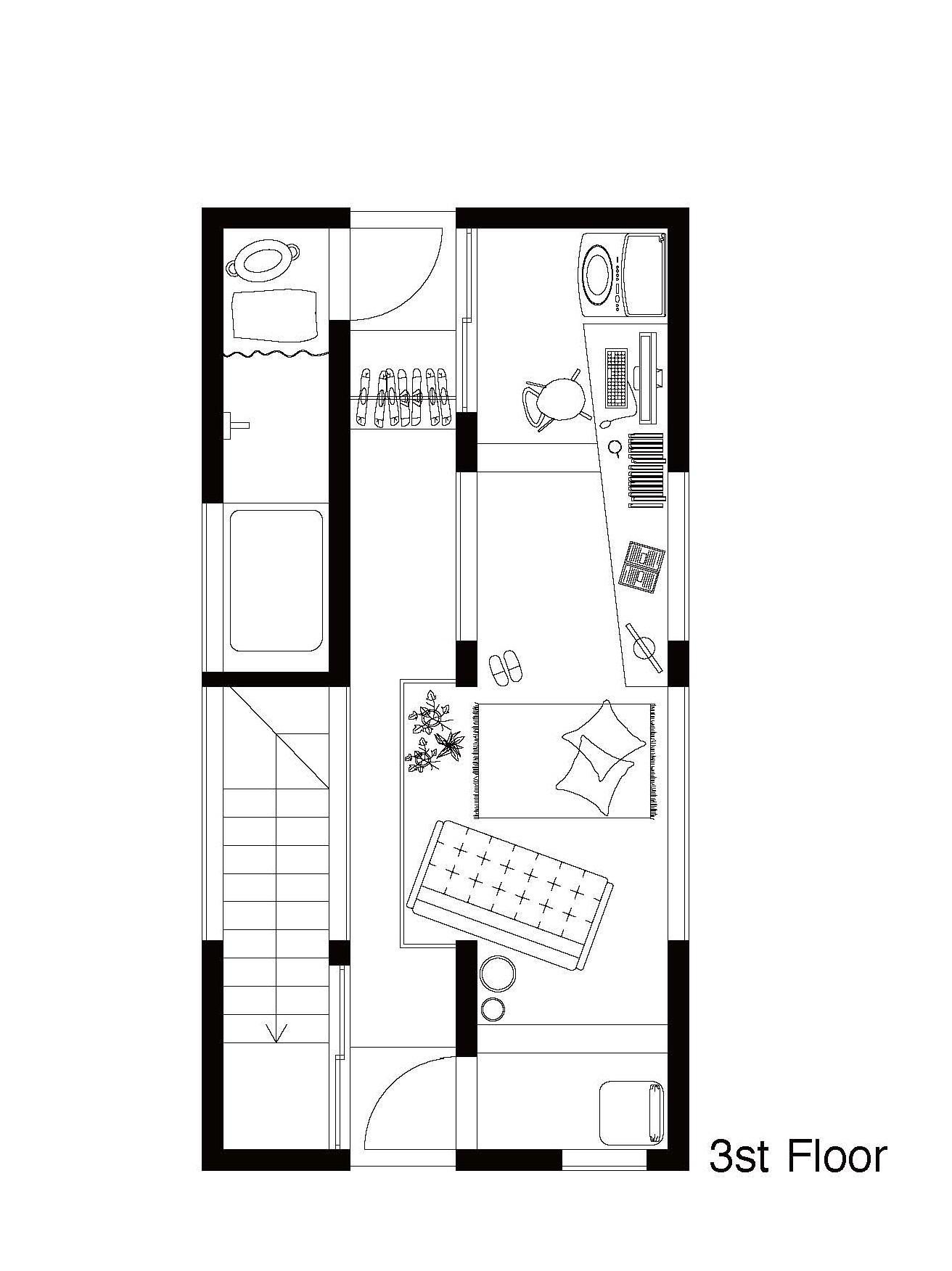 Galeria de uma vida com uma grande abertura on design for Lifestyle homes floor plans