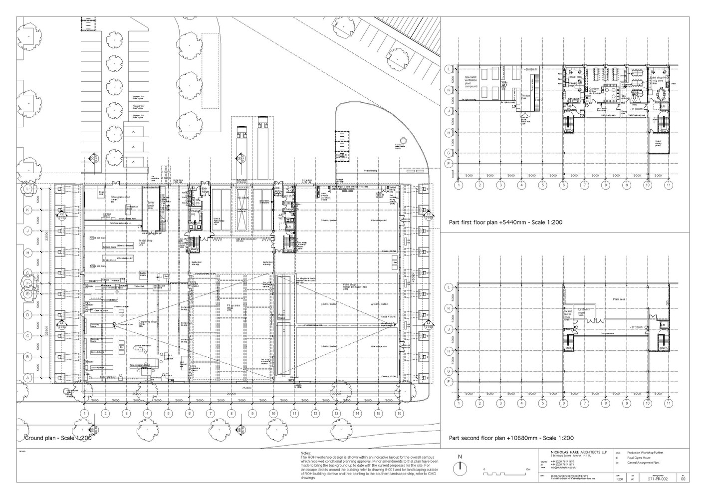 Gallery of Royal Opera House Production Workshop Nicholas Hare – Royal Opera House Floor Plan