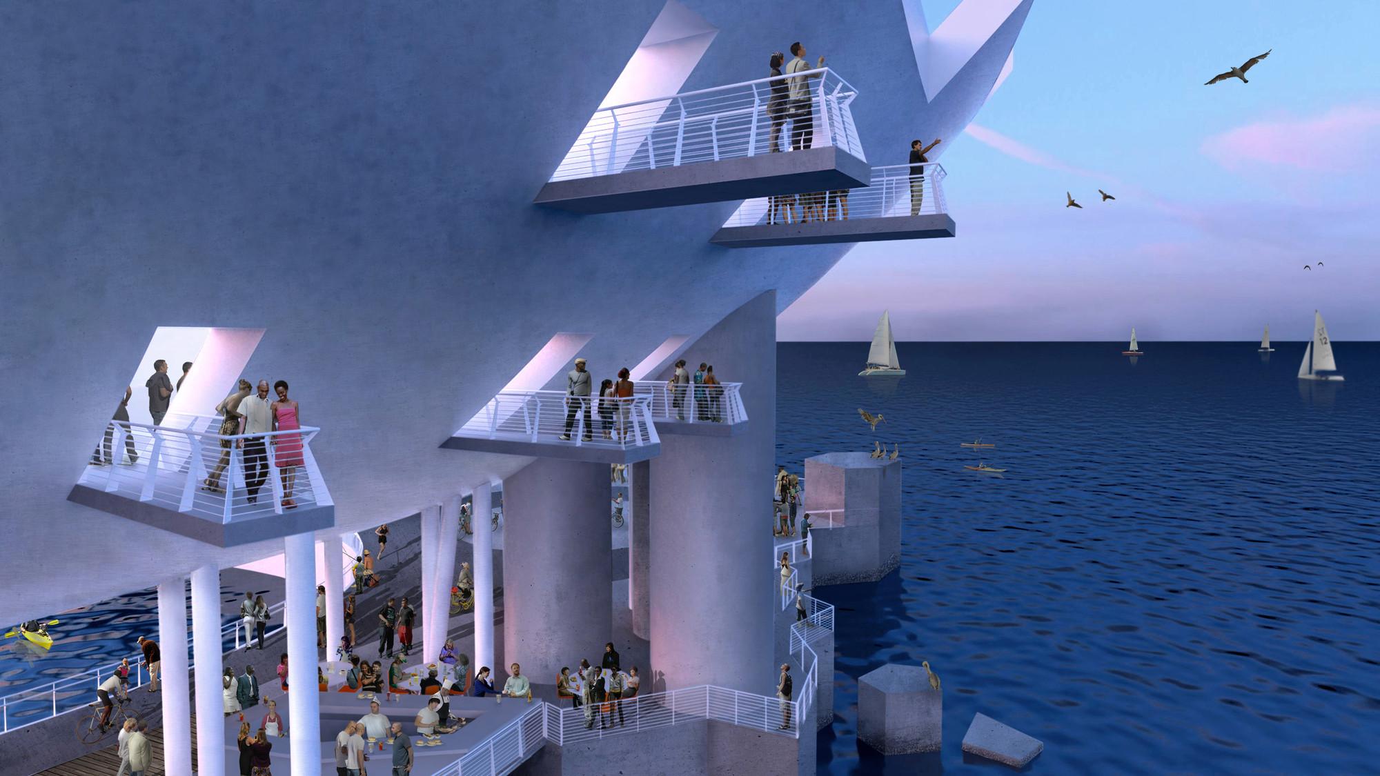 """Despite Controversy, Michael Maltzan Architecture's """"Lens"""" Will Go On"""