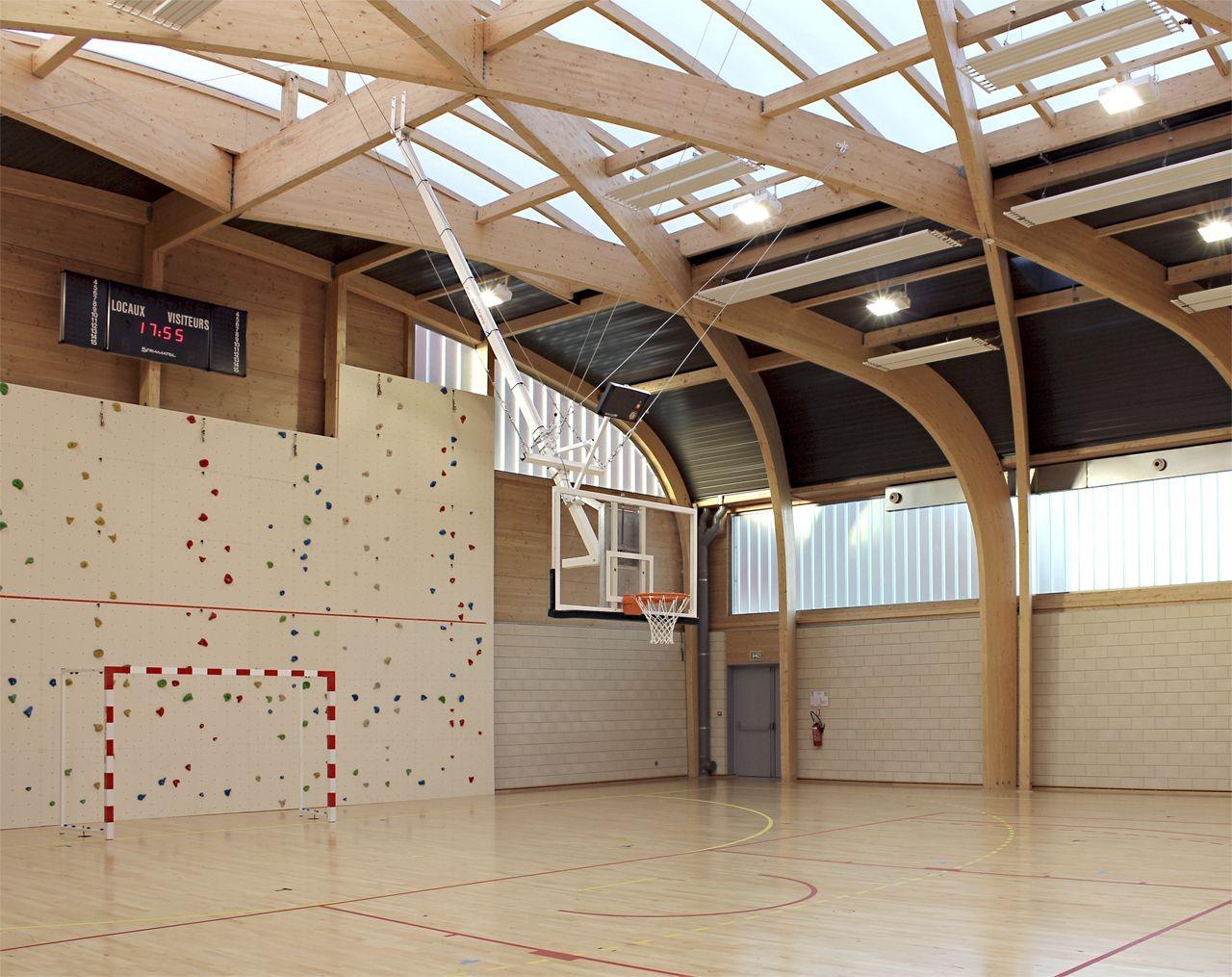 gallery of gymnasium r gis racine atelier d 39 architecture alexandre dreyss 13. Black Bedroom Furniture Sets. Home Design Ideas