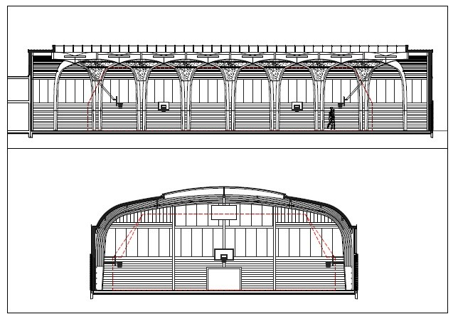 Galer a de gimnasio r gis racine atelier d 39 architecture for Gimnasio 19