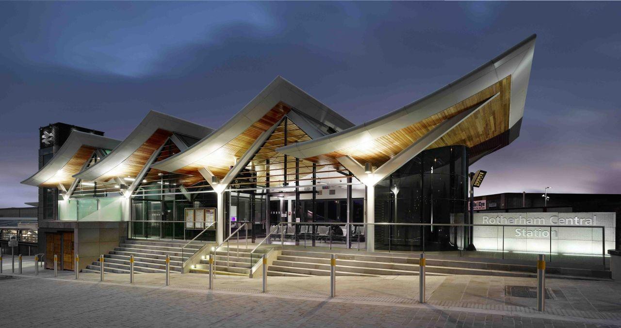 Rotherham Central Station Aedas Archdaily