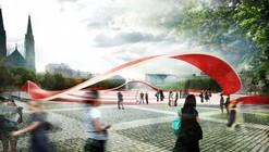 Proposta para o Mercado e Praça Zdunski  / Mado Architekci