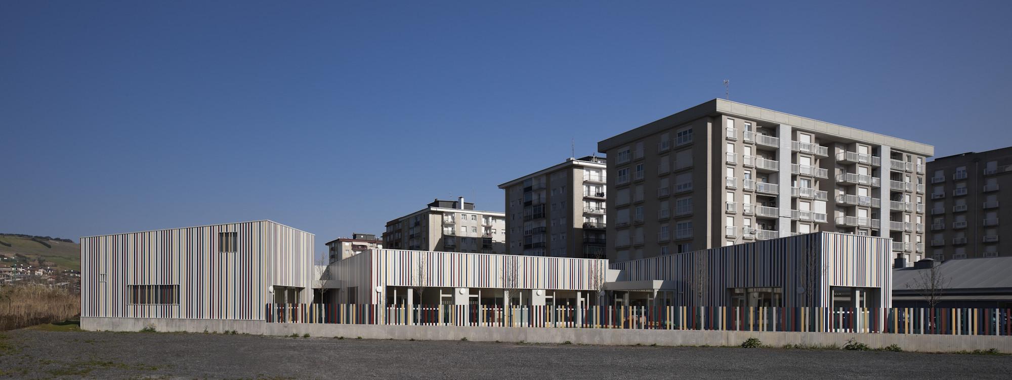 Escuela Infantil en Zarautz / Ignacio Quemada Arquitectos, © Alejo Bagué