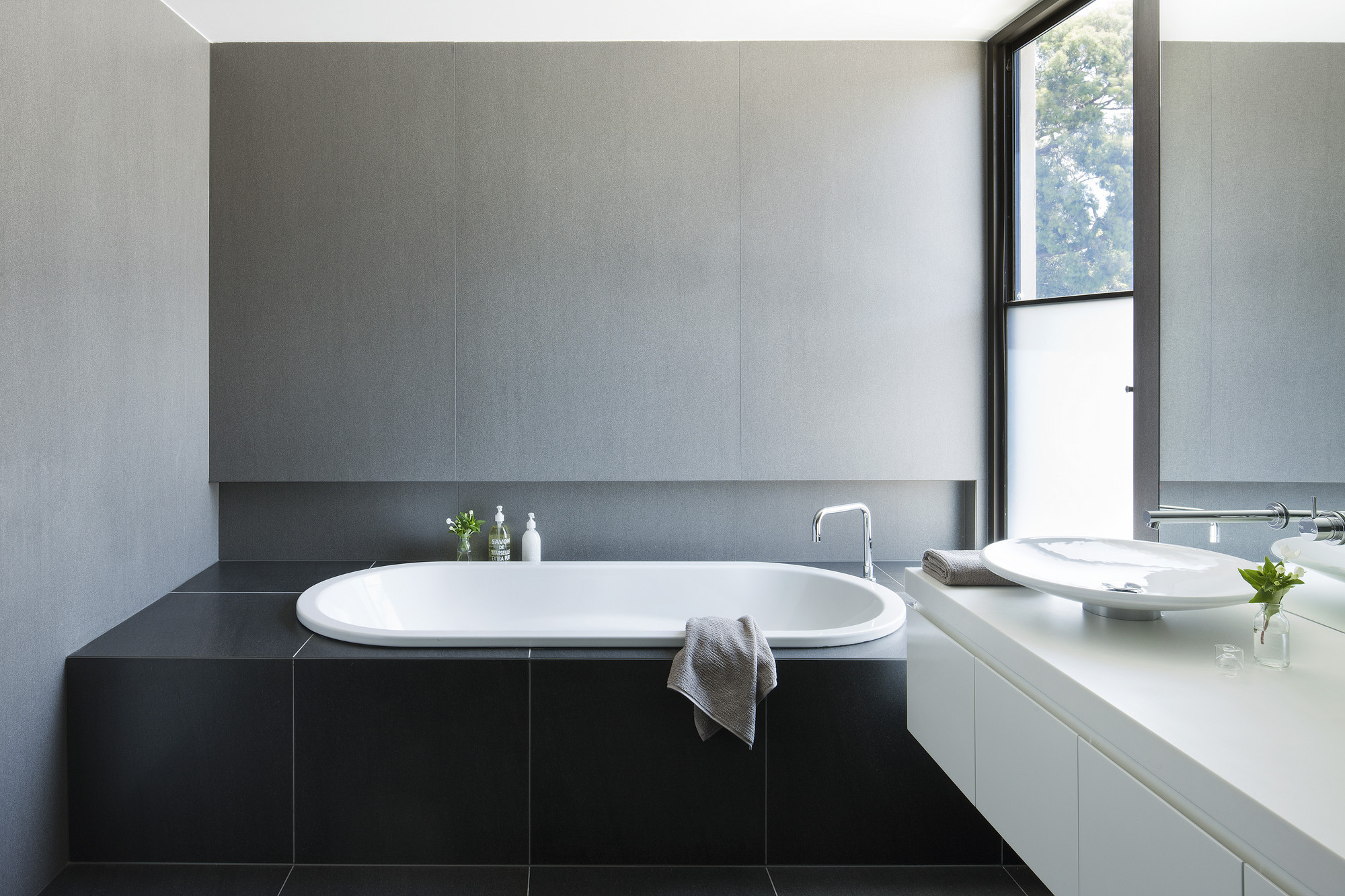 50c7dcffb3fc4b2b100000ee Malvern House Canny Design Photo on Small Modern Bathroom Design