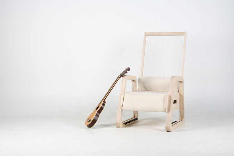 Cadeira Echosim / JaeYoung Jang, Cortesía de JaeYoung Jang