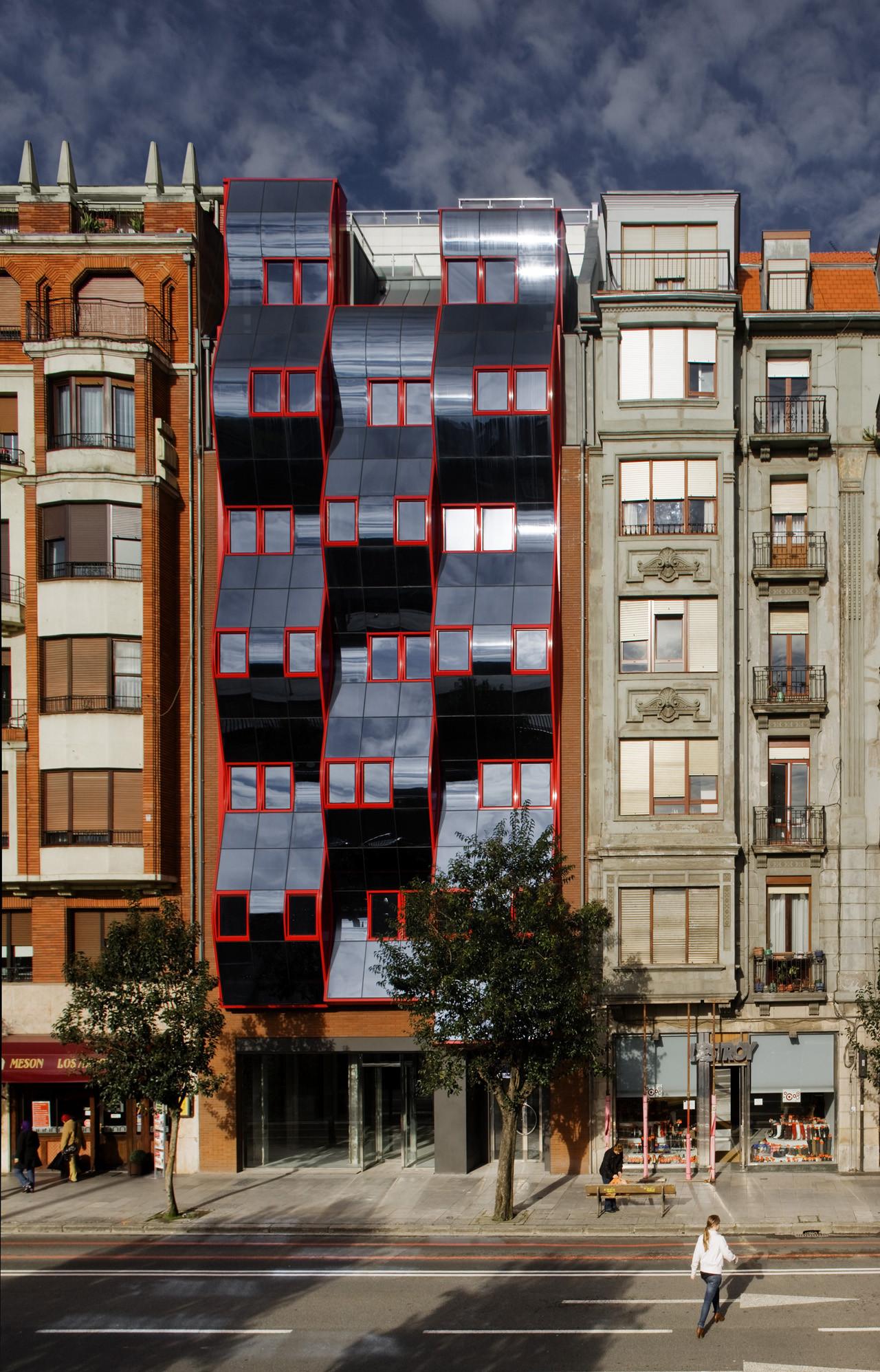 Bilbao Hurtado Amezaga Viviendas / IA+B, © Aitor Ortiz