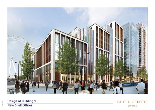 Building 1 – office use; Squire and Partners. Image courtesy of The Canary Wharf Group.