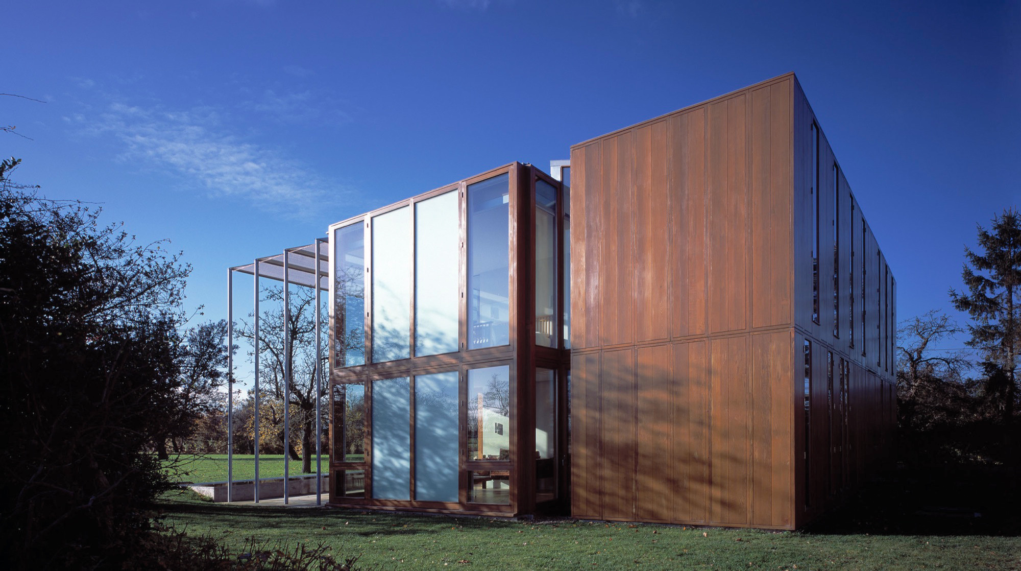 House At Pipers End Niall Mclaughlin Architects Archdaily