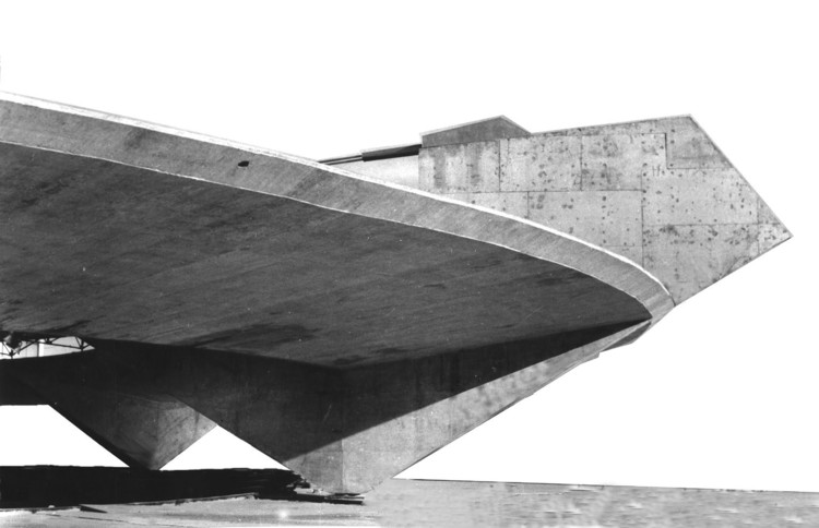 Brutalist Connections, Ginásio do Clube Atlético Paulistano / Paulo Mendes da Rocha